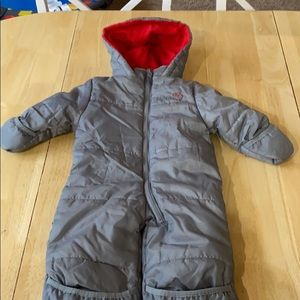 Other - Gray puffer snowsuit